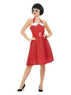 1950-es Évekbeli Pin Up Női Jelmez