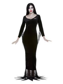 Addams Family Morticia Női Jelmez