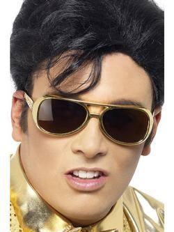 Arany Elvis Presley Szemüveg