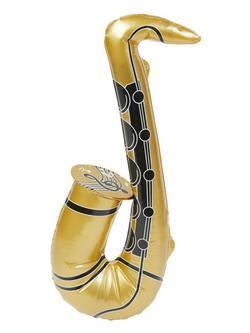 Arany Felfújható Szaxofon