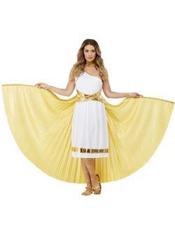 Arany Görög Istennő Köpeny Szárnyakkal
