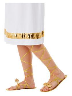 Arany Görög Istennő Szandál Levelekkel