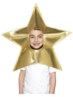 Arany Karácsonyi Csillag Fejdísz