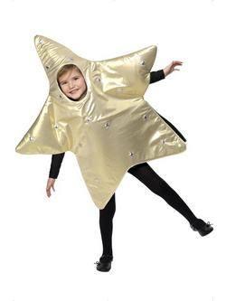 Arany Karácsonyi Csillag Gyerek Jelmez