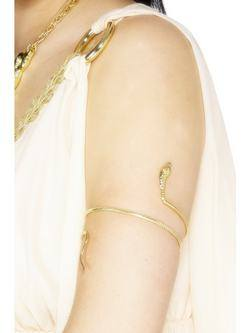Arany Kígyó Alakú Egyiptomi Karkötő