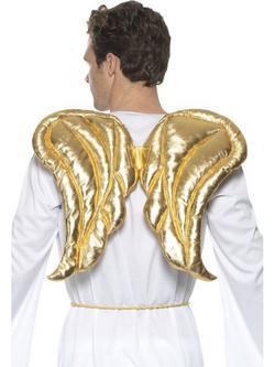 Arany Párnázott Angyalszárnyak - 50 x 40 cm