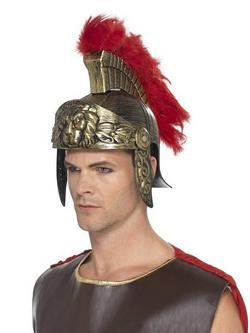 Arany-Piros Római Harcos Sisak Férfiaknak