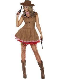 Barna Cowboy Női Jelmez