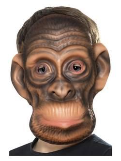 Barna Csimpánz Gyerek Maszk