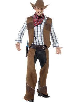 Barna Rojtos Cowboy Férfi Jelmez