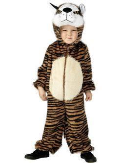 Barna Tigris Gyerek Jelmez