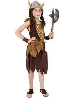Barna Viking Kislány Jelmez
