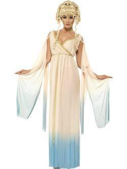 Bézs Görög Hercegnő Női Jelmez