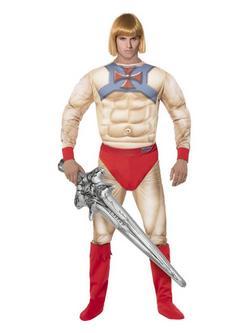 Bézs He-Man A Világ Ura Férfi Jelmez