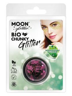 Bio Nagyszemű Sötét Rózsaszín Csillám Csomagolásban - 3 g