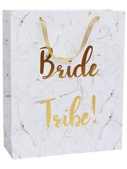 Bride Tribe Feliratú Ajándéktasak Lánybúcsúra