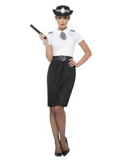Brit Rendőr Női Jelmez