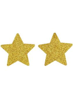 Csillámos Csillag Alakú Mellbimbótakaró