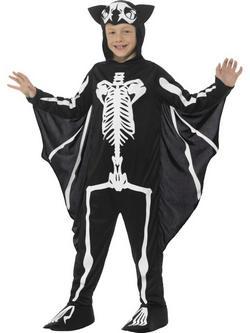 Csontváz Denevér Kisfiú Jelmez
