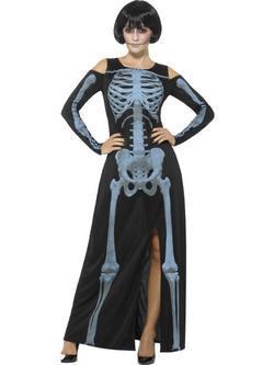 Csontváz Női Jelmez