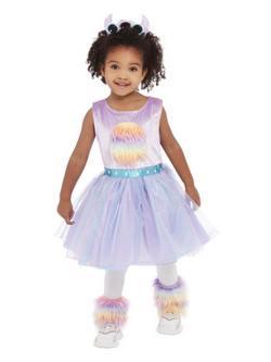 Cuki Szörnyecske Totyogó Kislány Jelmez Halloweenre