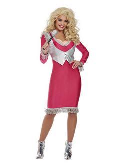 Dolly Parton Női Jelmez