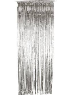 Ezüst Ajtódekoráció - 91 cm x 244 cm