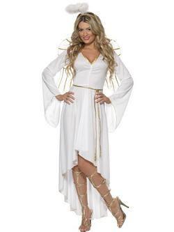 Fehér Angyal Női Jelmez