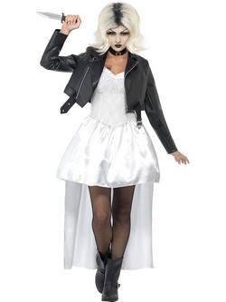 Fehér Chucky Menyasszonya Női Jelmez