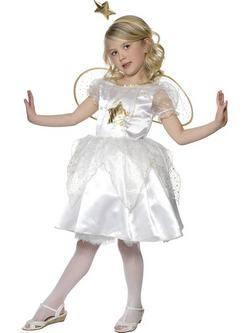 Fehér Csillagtündér Kislány Jelmez