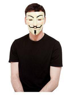 Fehér Guy Fawkes Maszk