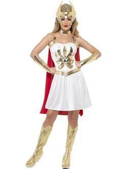 Fehér He - Man A Világ Ura She-Ra Női Jelmez