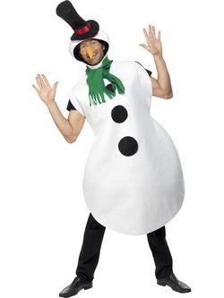 Fehér Hóember Férfi Jelmez