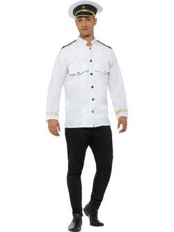 Fehér Kapitány Kabát Férfiaknak