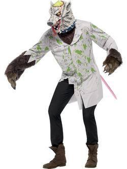 Fehér Kísérleti Patkány Férfi Jelmez