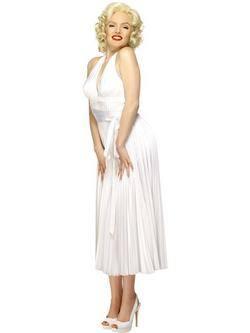Fehér Marilyn Monroe Női Jelmez