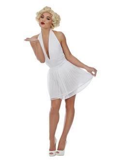 Fehér Rövid Marilyn Monroe Női Jelmez
