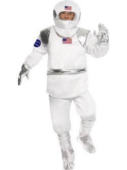 Fehér Űrhajós Férfi Jelmez