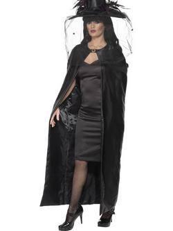 Fekete Boszorkány Köpeny