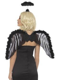 Bukott Angyal Smink Készlet Nőknek Glitteres Szárnyakkal és Glóriával