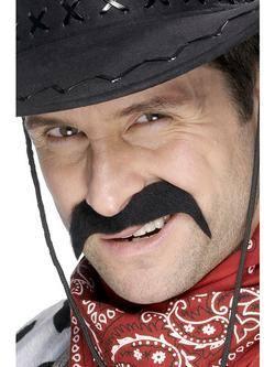 Fekete Cowboy Bajusz