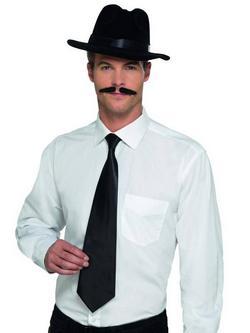 Fekete Deluxe Gengszter Nyakkendő