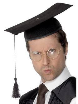 Fekete Diplomaosztós Kalap