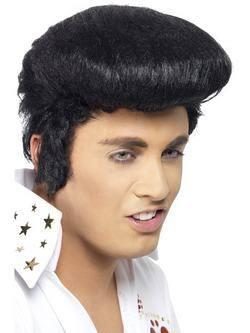 Fekete Különleges Elvis Presley Paróka