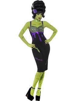 Fekete Frankenstein Kedvese Női Jelmez