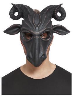 Fekete Hablatex Sátáni Kos Maszk