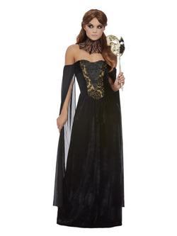 Fekete Halál Női Jelmez Halloweenre