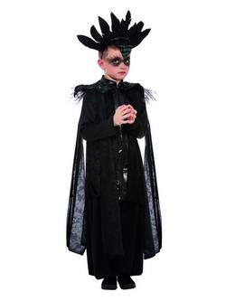 Fekete Holló Kisfiú Jelmez Halloweenre