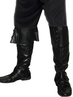 Fekete Kalóz Cipőtakaró