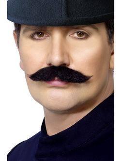 Fekete Londoni Rendőr Bajusz